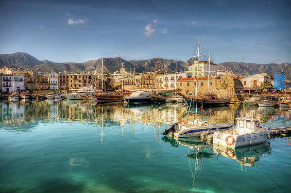 Tranquility Art Print featuring the photograph Girne Kyrenia , North Cyprus by Nejdetduzen