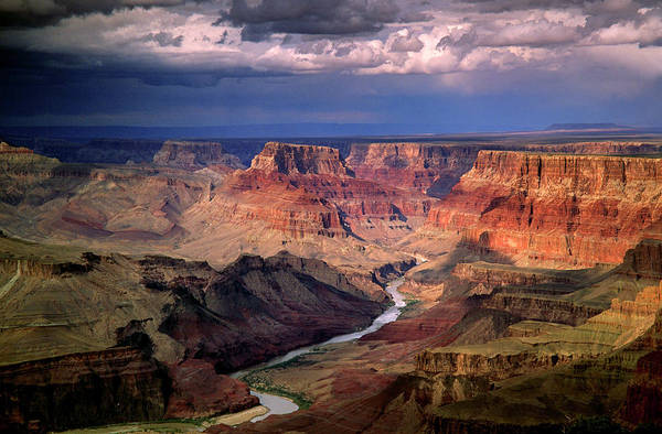 Scenics Art Print featuring the photograph Grand Canyon, Arizon, Usa by Michael Busselle