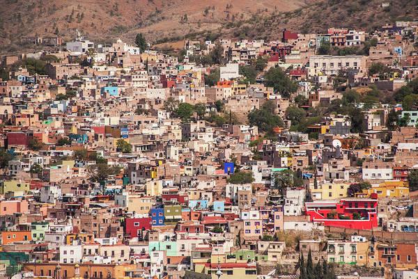 Scenics Art Print featuring the photograph Guanajuato by Maryann Flick