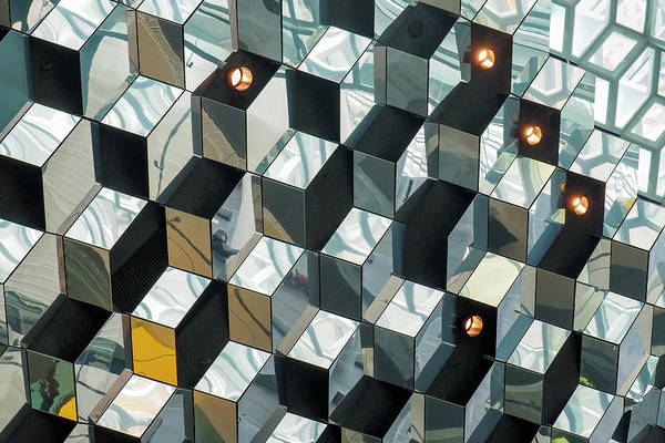 Iceland Art Print featuring the photograph Harpa - Reykjavik Iceland by Marla Craven