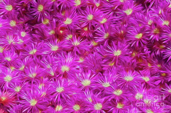 Flower Art Print featuring the digital art Hostile Takeover by Kenneth Montgomery