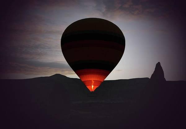 Hot Air Balloon Art Print featuring the photograph Hot Air Ballon by M.cantarero