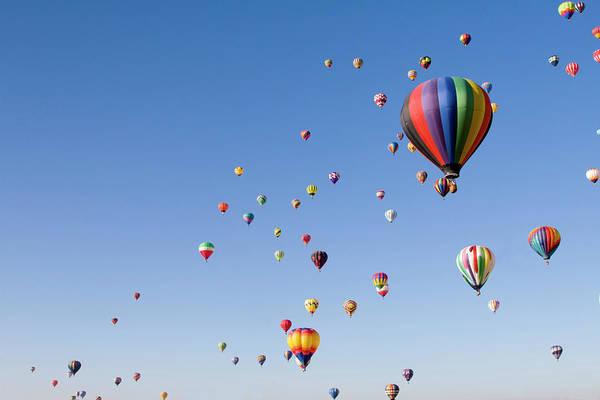 Event Art Print featuring the photograph International Balloon Fiesta by Prmoeller