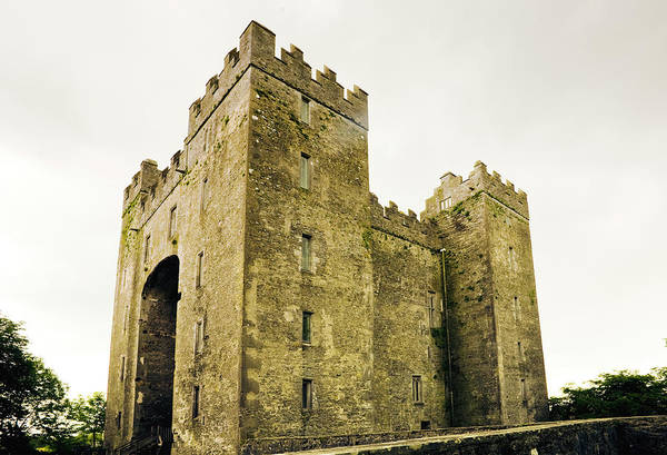 Bunratty Castle Art Print featuring the photograph Ireland Bunratty Castle In County by Alantobey