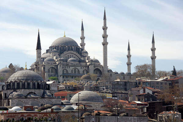 Istanbul Art Print featuring the photograph Istanbul In Turkey by Steve Allen