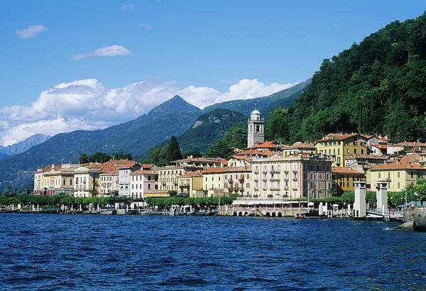 Scenics Art Print featuring the photograph Italy, Lombardy, Bellagio by Vincenzo Lombardo