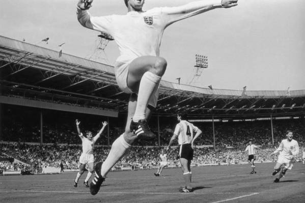 International Match Art Print featuring the photograph Jumping Geoff by Central Press