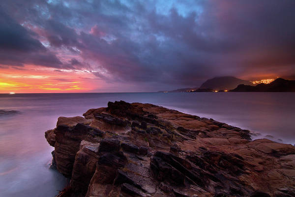 Scenics Art Print featuring the photograph Keelung, Taiwan by Chia-hsing Wu