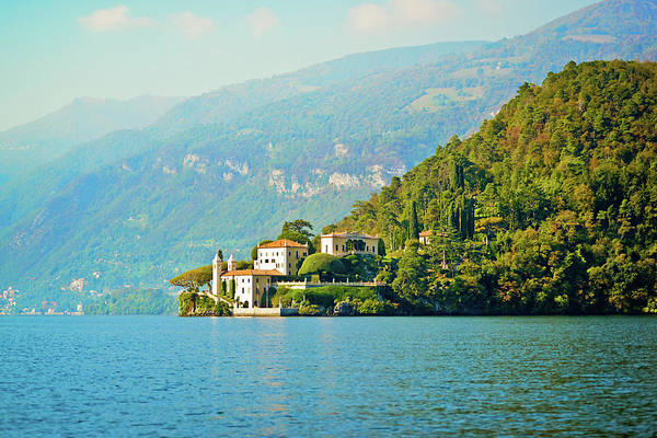 Scenics Art Print featuring the photograph Lake Como Scenic by Anouchka