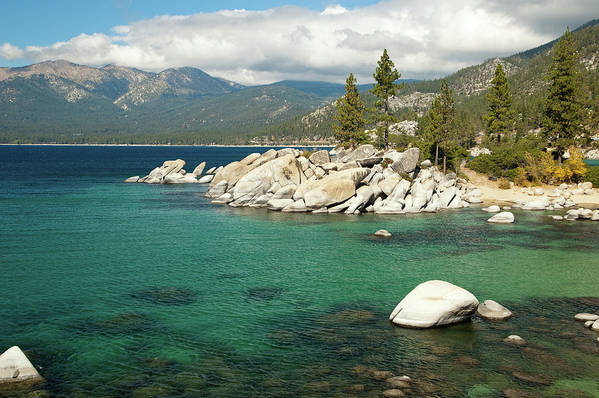 Scenics Art Print featuring the photograph Lake Tahoe Landscape by Megan Ahrens