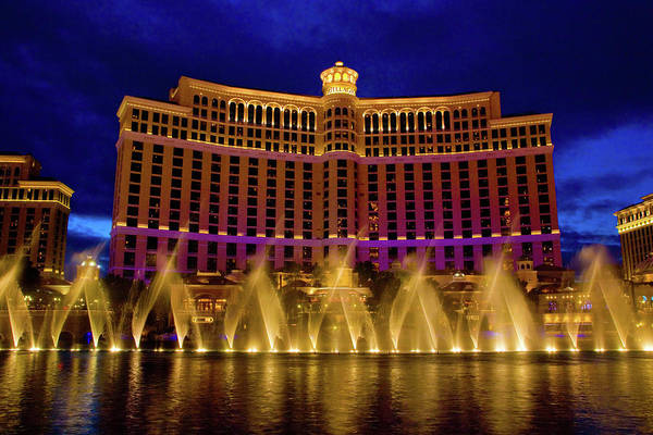 Spa Art Print featuring the photograph Las Vegas Glitz & Kitsch On Display by George Rose