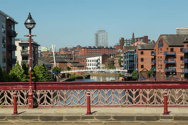 English Culture Art Print featuring the photograph Leeds Waterfront Developments by P A Thompson