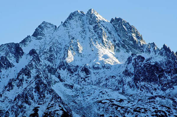 Scenics Art Print featuring the photograph Mountain by Yorkfoto