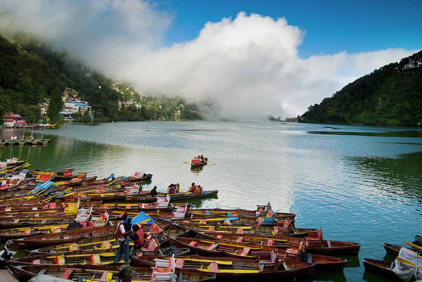 Outdoors Art Print featuring the photograph Nainital, Uttrakhand, India by Jitendra Singh Is A New Delhi / Shimla Based Photojournalist