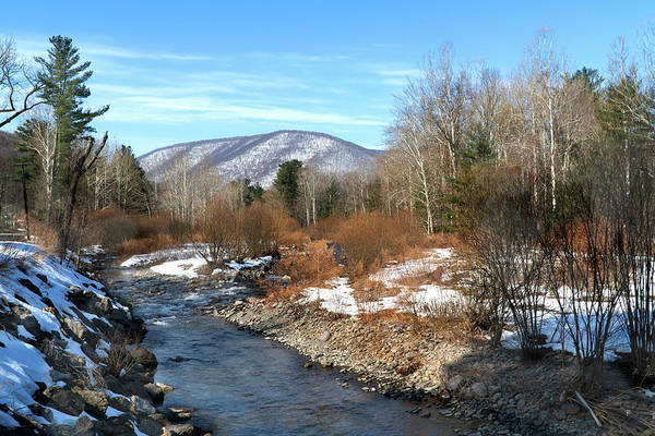 Landscape Art Print featuring the photograph On the Way to Peekamoose Mountain by Tom Romeo