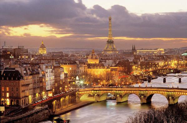 Paris Art Print featuring the photograph Paris, France - by Francois Bibal