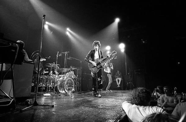 Led Zeppelin Art Print featuring the photograph Photo Of Led Zeppelin And Robert Plant by David Redfern
