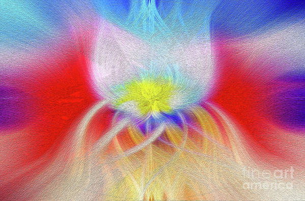 Art Print Art Print featuring the digital art Prominence Personified by Kenneth Montgomery