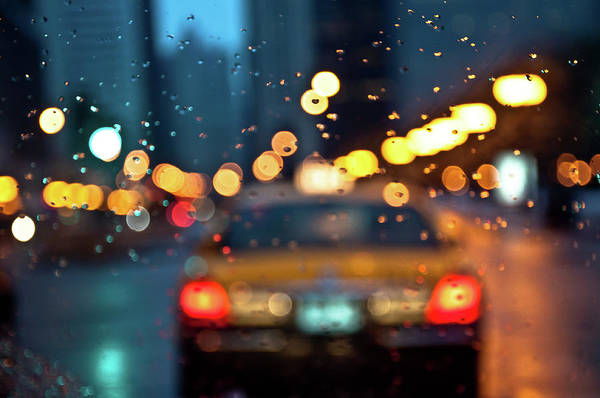 Car Interior Art Print featuring the photograph Raw, Wet & Cold by Romeo Banias