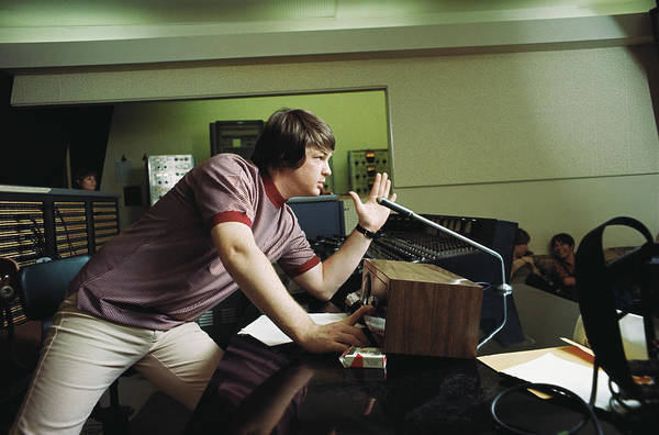 Usa Art Print featuring the photograph Recording Pet Sounds by Michael Ochs Archives