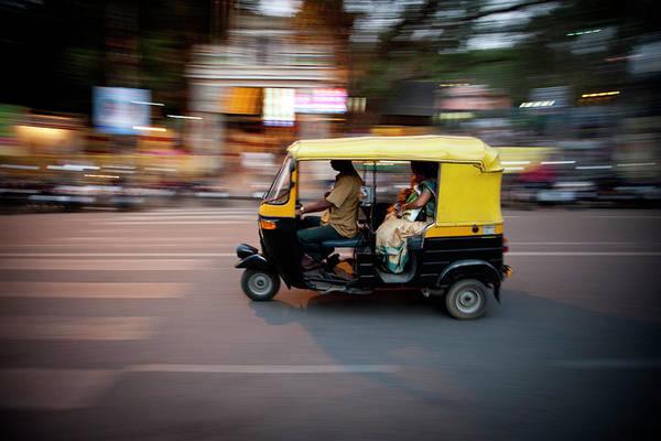 People Art Print featuring the photograph Rickshaw by Javi Julio Photography