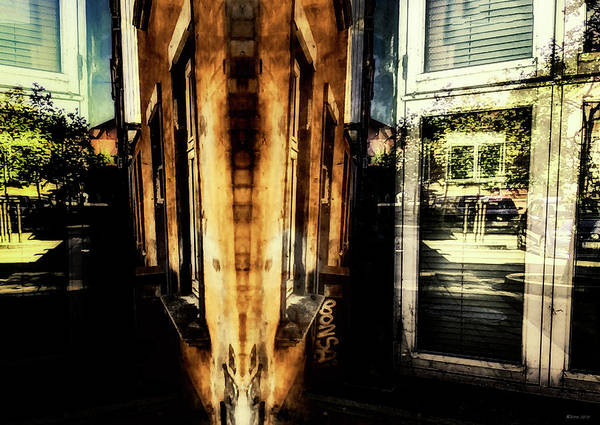 Fine Art Photography Art Print featuring the digital art Road Block 11 by Ole Klintebaek