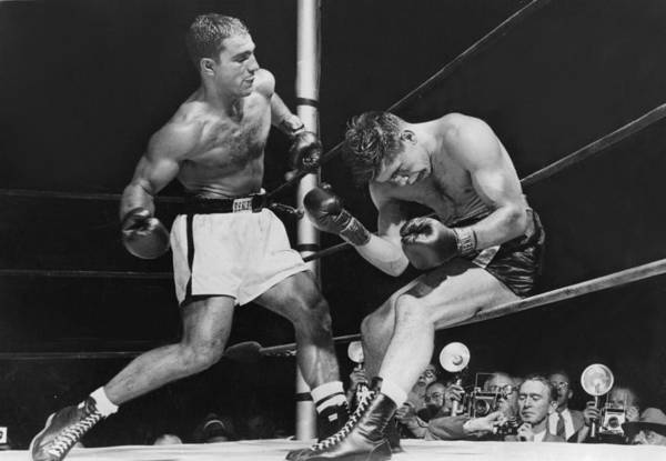 People Art Print featuring the photograph Rocky Marciano by Keystone