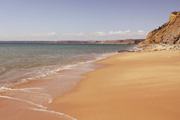 Tranquility Art Print featuring the photograph Sea At The Beach Of Cabo Ledo by Diego Rb - Fotografia