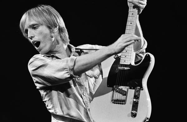 Tom Petty Art Print featuring the photograph Singer Tom Petty Performs In Concert by George Rose