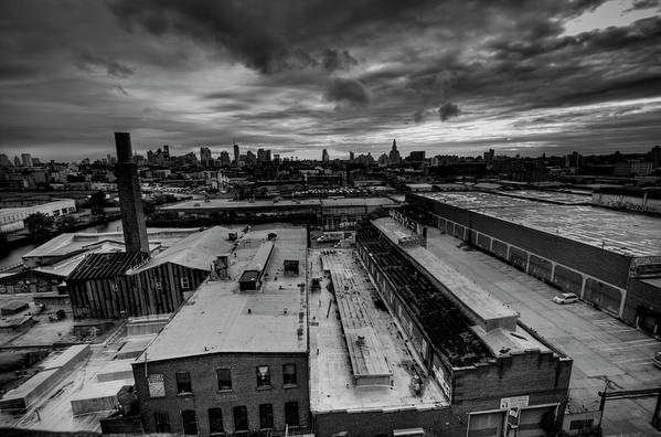 Industrial District Art Print featuring the photograph Smith 9th Panorama by Digitalcursor / Miron Kiriliv