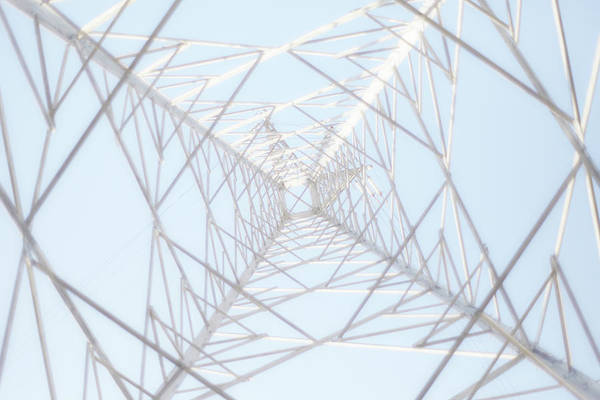 Radial Symmetry Art Print featuring the photograph Steel Tower by Kaneko Ryo