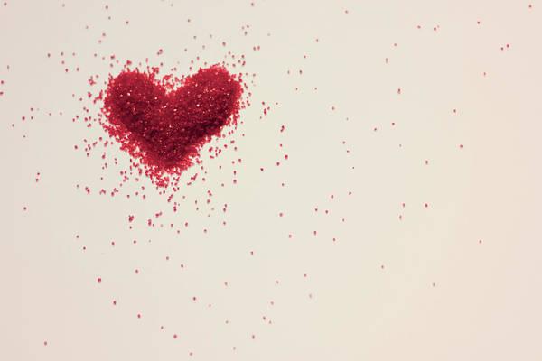 Art Art Print featuring the photograph Sugar Heart by Amy Weekley