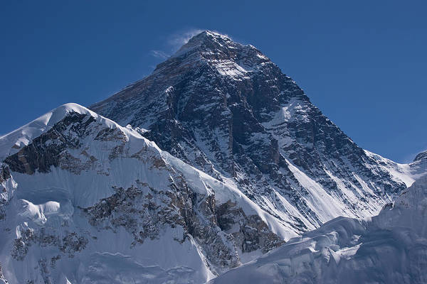 Scenics Art Print featuring the photograph Summit Of Mt Everest8850m Great Details by Diamirstudio