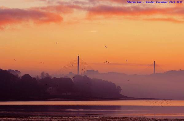 Scenics Art Print featuring the photograph Sunrise by All Images Taken By Keven Law Of London, England.
