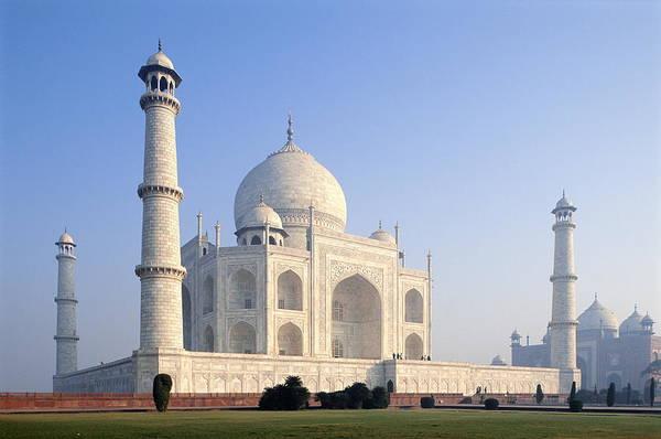 Scenics Art Print featuring the photograph Taj Mahal, Agra, Uttar Pradesh, India by Frans Lemmens