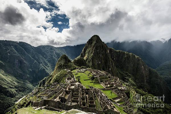Scenics Art Print featuring the photograph The Inca Trail, Machu Picchu, Peru by Kevin Huang