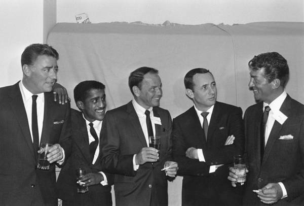 Singer Art Print featuring the photograph The Usual Rat Pack by Jack Albin