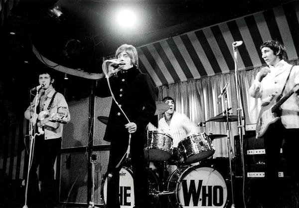 Singer Art Print featuring the photograph The Who by Paul Popper/popperfoto