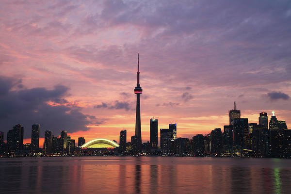 Lake Ontario Art Print featuring the photograph Toronto by Js`s Favorite Things