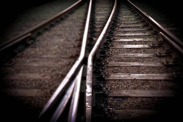 Freight Transportation Art Print featuring the photograph Train Line Crossing by Mikulas1