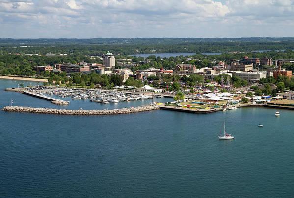 Lake Michigan Art Print featuring the photograph Traverse City, Michigan by Ct757fan