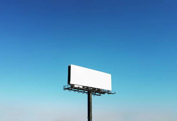 North Carolina Art Print featuring the photograph Usa, North Carolina, Billboard Under by Tetra Images