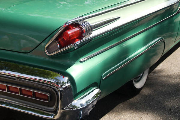 Cool Attitude Art Print featuring the photograph Vintage Tail Fin by Sstop