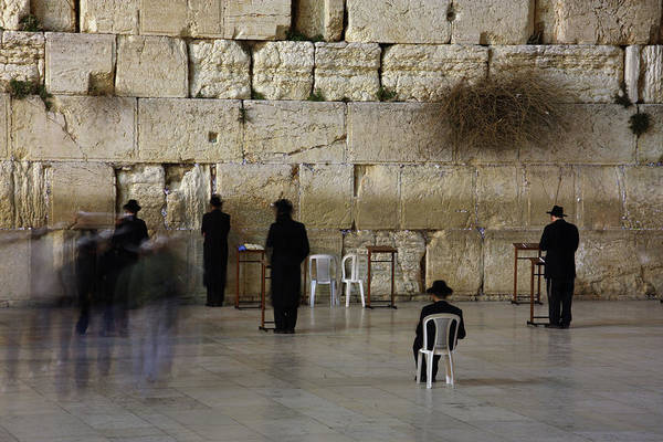 West Bank Art Print featuring the photograph Western Wall by Simon Podgorsek