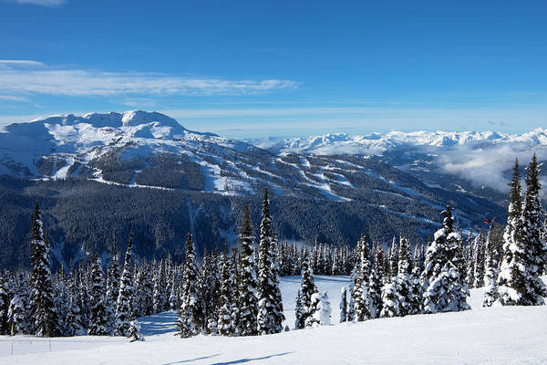 Scenics Art Print featuring the photograph Whistler Mountain by Visualcommunications