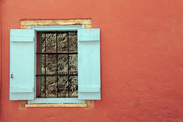 Greece Art Print featuring the photograph Window by Maria Toutoudaki
