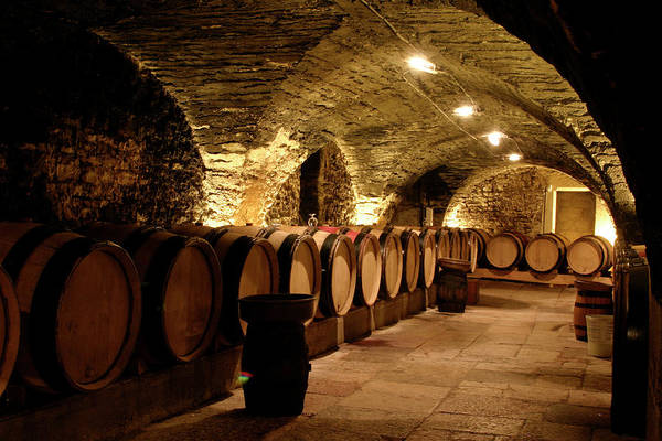 Arch Art Print featuring the photograph Wine Cellar by Brasil2