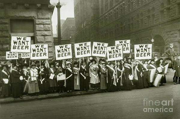 Womens Beer March by Jon Neidert