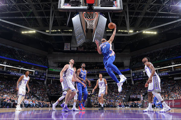 Nba Pro Basketball Art Print featuring the photograph Ben Simmons by Rocky Widner
