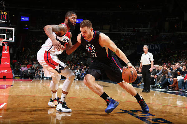 Nba Pro Basketball Art Print featuring the photograph Blake Griffin by Ned Dishman